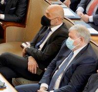 снимка 28 Първото заседание на новия парламент в СНИМКИ