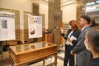 снимка 1 Лични вещи на Раковски в изложба в Националната библиотека в София