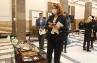 снимка 2 Лични вещи на Раковски в изложба в Националната библиотека в София