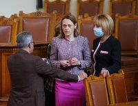 "снимка 5 Парламентът гласува и прие оставката на кабинета ""Борисов 3"""