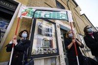 снимка 4 Протести в Италия: В Рим се стигна до сблъсъци