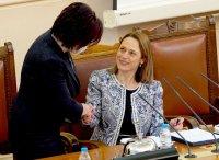 снимка 33 Първото заседание на новия парламент в СНИМКИ