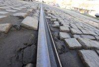 снимка 1 Започна ремонтът на трасето по трамвайна линия 5 (СНИМКИ)