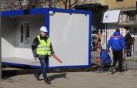 снимка 7 Започна ремонтът на трасето по трамвайна линия 5 (СНИМКИ)