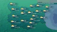 Ветровито и дъждовно днес, температурите ще се понижат