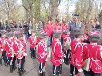 С военен ритуал отбелязаха 200 години от рождението на Раковски в Пловдив