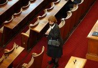 снимка 44 Първото заседание на новия парламент в СНИМКИ
