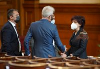 снимка 21 8-часови дебати във втория ден на новия парламент (СНИМКИ)