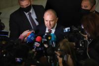 Румен Радев: Ще издам указ за свикване на НС, след като ЦИК обнародва списъка с имената на депутатите