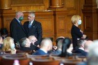 снимка 42 8-часови дебати във втория ден на новия парламент (СНИМКИ)