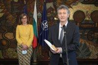 Екатерина Захариева награди бившия ни почетен консул в Намибия