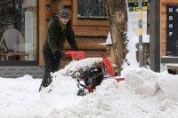 снимка 2 Сняг покри Полша (Снимки)