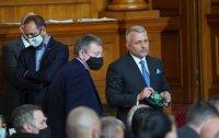 "снимка 2 Парламентът гласува и прие оставката на кабинета ""Борисов 3"""