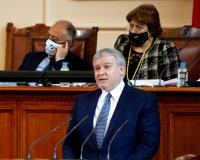 снимка 16 8-часови дебати във втория ден на новия парламент (СНИМКИ)