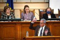 снимка 13 8-часови дебати във втория ден на новия парламент (СНИМКИ)