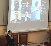 Слави Трифонов и депутатите в изолация или под карантина положиха клетва онлайн