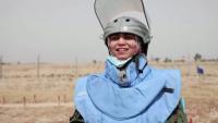 Първи изцяло женски екип от сапьори в Ирак