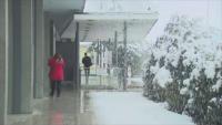 Сняг през април в Словения