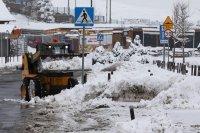 снимка 1 Сняг покри Полша (Снимки)