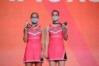 Сестри Стоеви спечелиха европейското по бадминтон в Киев