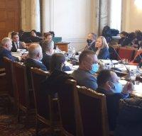 Първо заседание и на правната комисия