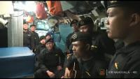 Прощално послание на екипажа на потъналата индонезийска подводница