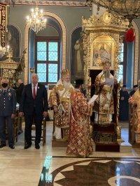 снимка 5 Пловдивският митрополит Николай оглави службата за Второ Възкресение