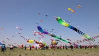 118 отбора участват в международния фестивал на хвърчилата в Китай