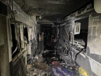 Експлозия и пожар в болница в Ирак, загинали са над 20 души