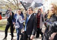 ВМРО на протест пред НС и Президентството заради промените в Изборния кодекс
