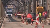 """Всяка вечер до 29 април спират движението на """"Дунав мост"""" при Русе за 4 часа"""