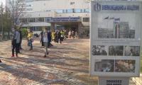 """Дълги опашки пред ВМА и """"Пирогов"""" заради зеления коридор за ваксинация"""