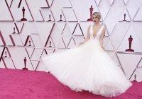 Ослепителна в бялата си рокля Мария Бакалова озари Оскарите (Снимки)