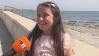 8-годишно момиче от Поморие откри рядък скъпоценен камък