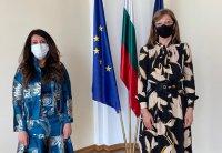 Посланикът на САЩ се срещна с президента Радев и с вицепремиера в оставка Екатерина Захариева