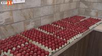 На Велики четвъртък в Бачковския манастир боядисват 2021 яйца