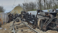 Заради дерайлирането на влак: Най-малко седмица остава затворена жп линията Русе - Каспичан