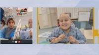 Борба за живот: 10-годишният Дени след трансплантация на стволови клетки в Израел