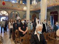 снимка 3 Пловдивският митрополит Николай оглави службата за Второ Възкресение