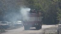 """Пожарът във военния завод """"Аркус"""" не е причинил замърсяване на въздуха в района"""