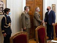 Румен Радев проведе среща с председателя на Военния комитет на ЕС