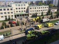 снимка 4 Стрелба в училище в Казан, има жертви и ранени