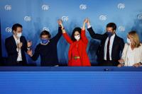 Десницата печели регионалните избори в Мадрид