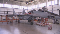 Три самолета МиГ-29 участваха във военния парад тази година