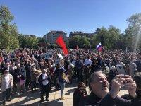 снимка 3 Отбелязване на Деня на Победата пред паметника на Съветската армия