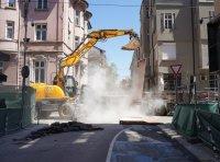 "5 месеца без топла вода: Започна цялостен ремонт на столичната улица ""Цар Иван Шишман"" (ОБЗОР)"