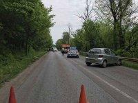 Тежка катастрофа затвори пътя Велико Търново - Русе