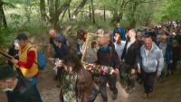 На Светли понеделник: Литийно шествие с иконата на Богородица от Бачковския манастир