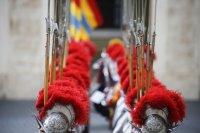 снимка 5 Нови швейцарски гвардейци положиха клетва за вярност към папата във Ватикана (Снимки)
