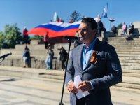 снимка 4 Отбелязване на Деня на Победата пред паметника на Съветската армия